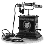 1896 Swedish telephone. Photo: en.wikipedia.org